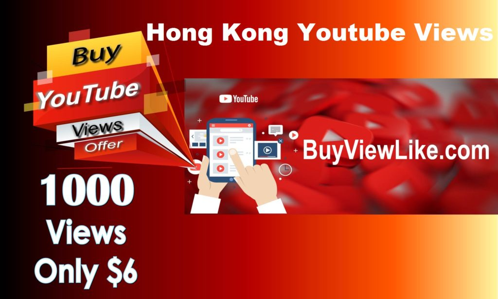 Hong Kong Youtube Views