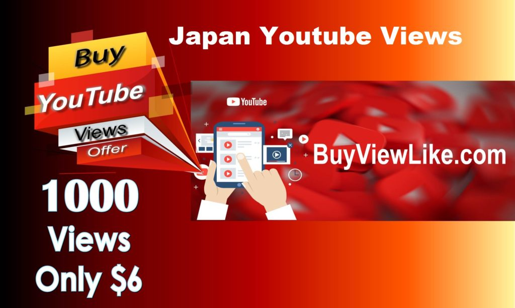 Japan Youtube Views