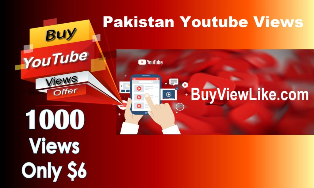 Pakistan Youtube Views