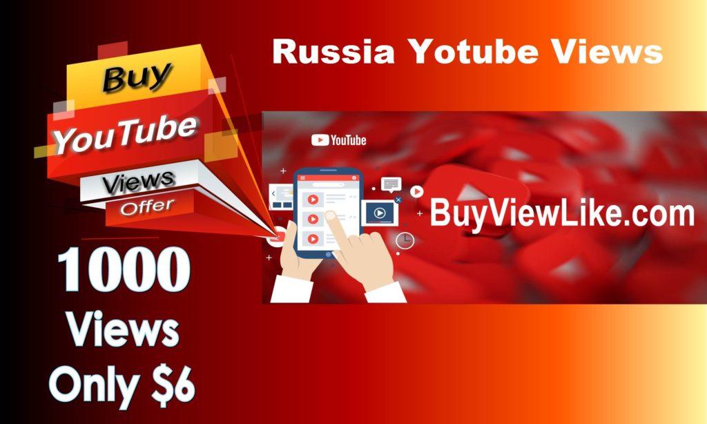 Russia Yotube Views