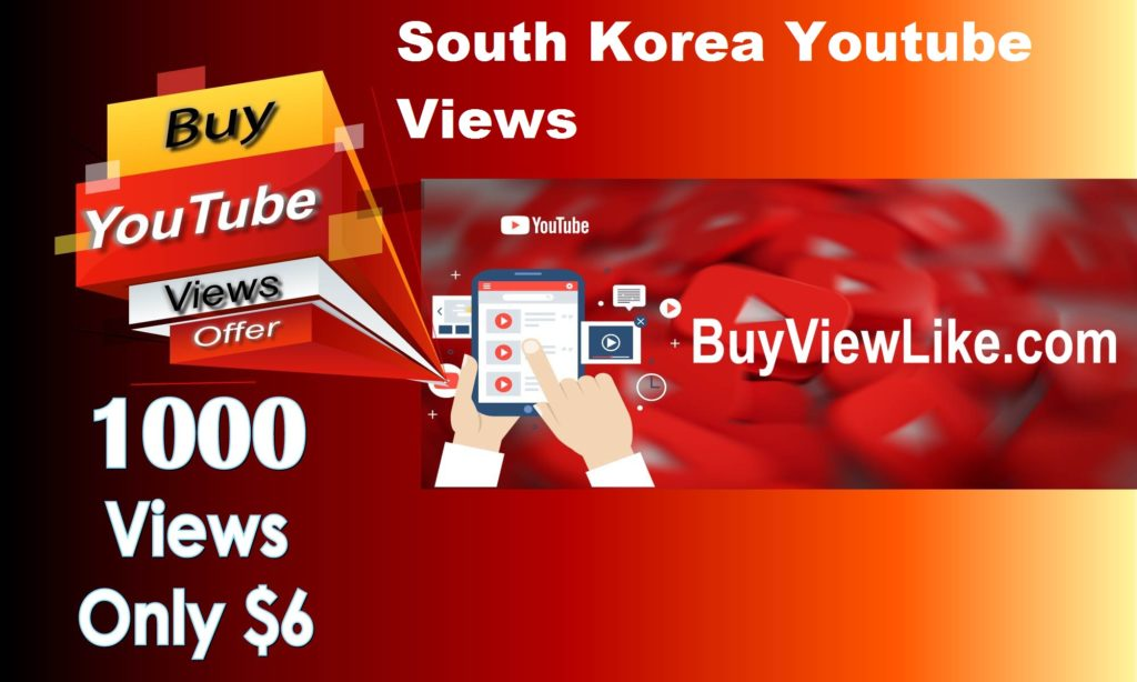 South Korea Youtube Views