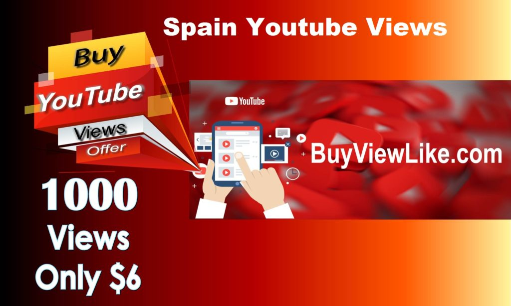 Spain Youtube Views