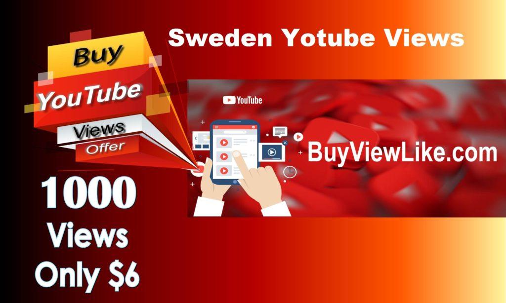 Sweden Yotube Views